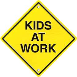 Kids At Work Two Sided Decorations By Carson Dellosa