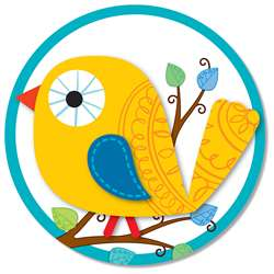 Boho Birds Two Sided Decoration By Carson Dellosa