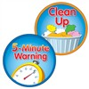 Shop 5 Minute Warning Clean Up Two Sided Decorations - Cd-188053 By Carson Dellosa