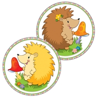 Happy Hedgehogs Two Sided Decorations Gr Pk-5, CD-188063