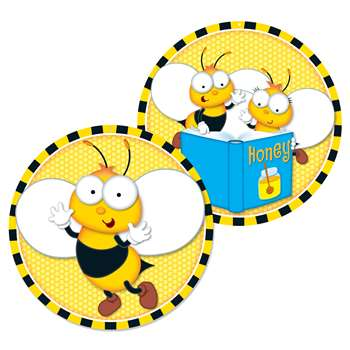 Buzz-Worthy Bees Two-Sided Decoration, CD-188064
