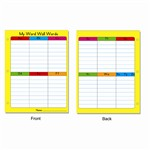 Portable Word Wall Gr 1-3 12/Pk By Carson Dellosa
