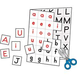Individual Making Words 12/Set Cut-Apart Letter Cards By Carson Dellosa