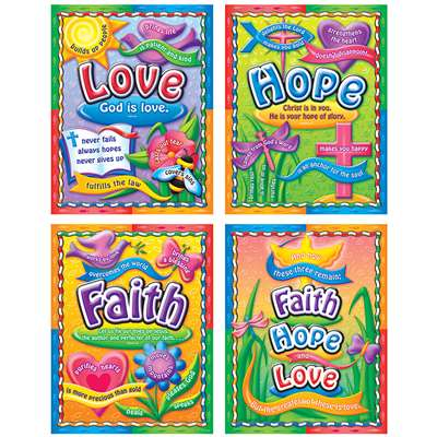 Faith Hope And Love By Carson Dellosa