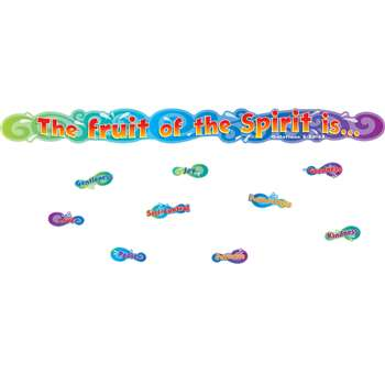 The Fruit Of The Spirit Mini Bulletin Board Set Gr Pk-3 By Carson Dellosa
