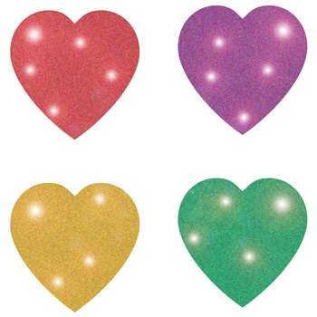 Dazzle Chart Seals Heart Multicolor By Carson Dellosa