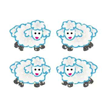 Dazzle Stickers Lambs 96/Pk Acid & Lignin Free By Carson Dellosa