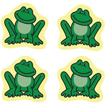 Chart Seals Frogs 810/Pk Acid & Lignin Free By Carson Dellosa