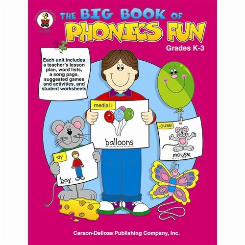 Big Book Of Phonics Fun Gr Pk1 CD2352 Carson Dellosa Phonics – Carson-dellosa Worksheets