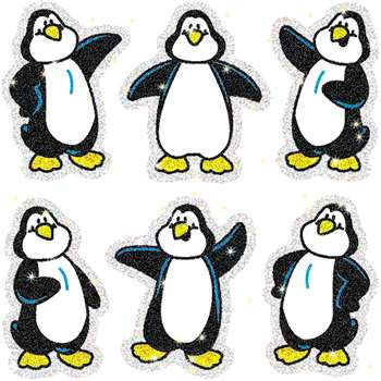 Dazzle Stickers Penguins 90-Pk Acid & Lignin Free By Carson Dellosa