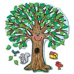 Bb Set Big Tree Kid-Drawn 48 X 54 By Carson Dellosa
