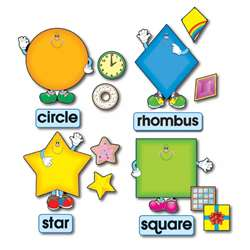 Bb Set Shapes 8 Shapes 8 Words 16 Accents By Carson Dellosa