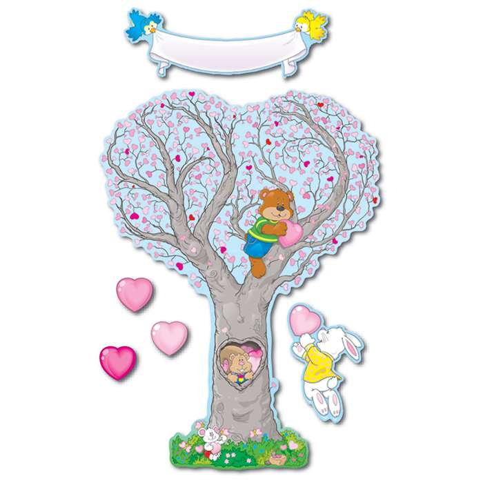 Bb Set Caring Heart Tree By Carson Dellosa