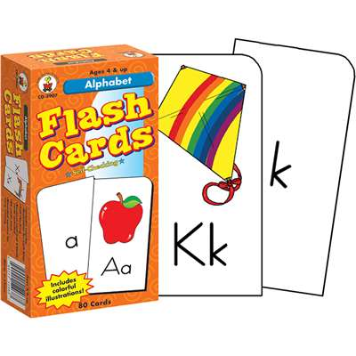 Flash Cards Alphabet 6 X 3 By Carson Dellosa