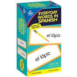 Flash Cards Everyday Words In Spanish Photographic By Carson Dellosa