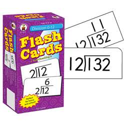Flash Cards Division 0-12 By Carson Dellosa