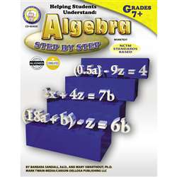 Helping Students Understand Algebra 7& Up By Carson Dellosa