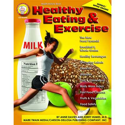 Healthy Eating And Exercise By Carson Dellosa