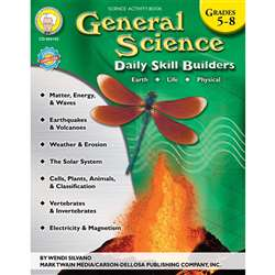 Daily Skill Builders General Science Gr 5-8 By Carson Dellosa