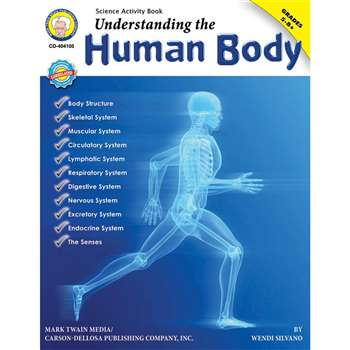 Understanding The Human Body Gr 5-8 By Carson Dellosa