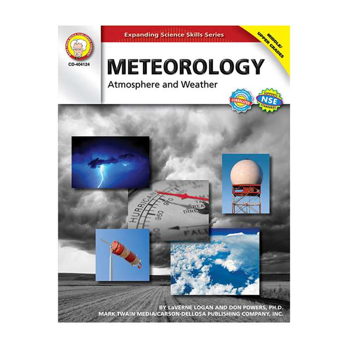 Meteorology Atmosphere & Weather Gr 5-8 By Carson Dellosa