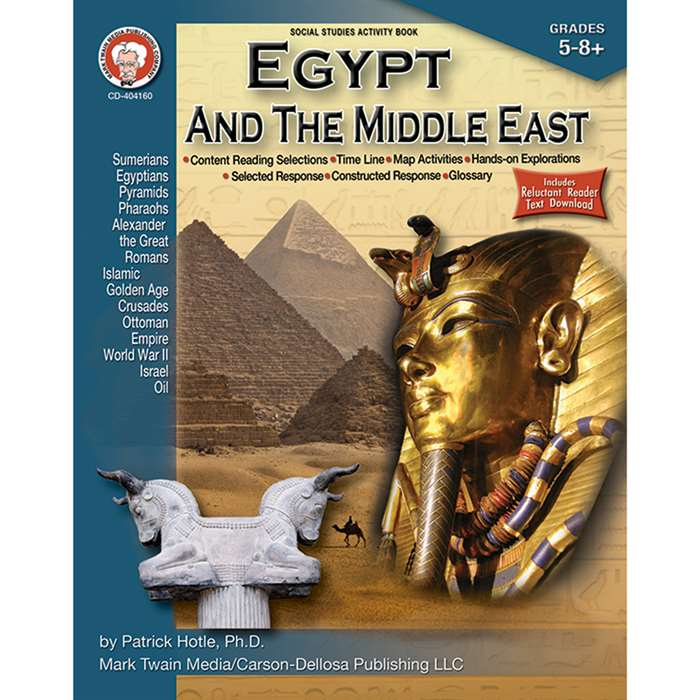 Egypt And The Middle East By Carson Dellosa