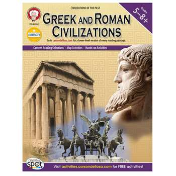 Greek And Roman Civilizations By Carson Dellosa