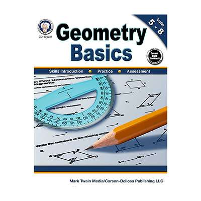 Geometry Basics Gr 5-8, CD-404237