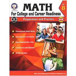 Gr 8 Math For College And Career Readiness, CD-404240