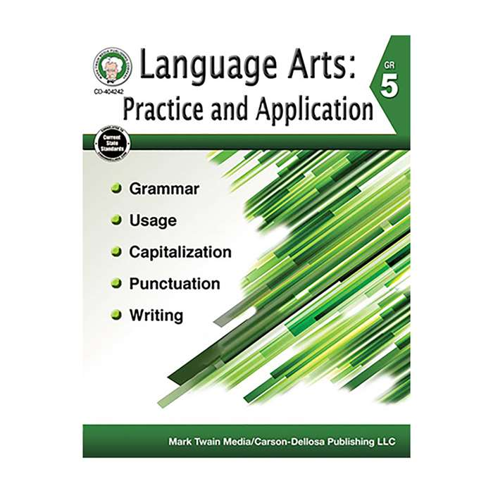 Language Arts Gr 5 Practice And Application, CD-404242