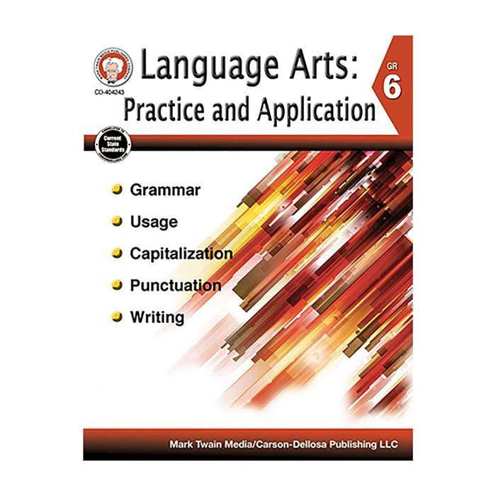 Language Arts Gr 6 Practice And Application, CD-404243