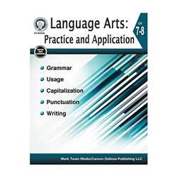 Language Arts Gr 7-8 Practice And Application, CD-404244
