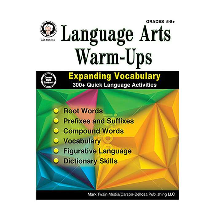 Language Arts Warm-Ups Gr 5-8, CD-404245