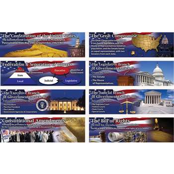 Constitution Of The United States Bulletin Board Set Gr 4-8 By Carson Dellosa