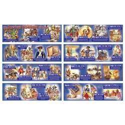 The American Revolution Time Line Mini Bulletin Board Set By Carson Dellosa