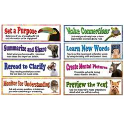 Building Reading Comprehension Skills Bulletin Board Set By Carson Dellosa