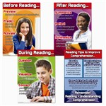 Reading Comprehension Bulletin Board Set By Carson Dellosa