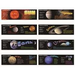 Solar System Mini Bulletin Board Set By Carson Dellosa