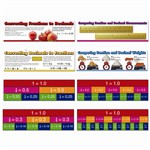 Comparing Fractions And Decimals Mini Bulletin Board Set By Carson Dellosa