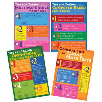 Math Testing Tips Bb Set, CD-410095
