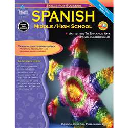 Spanish: Middle/High School By Carson Dellosa