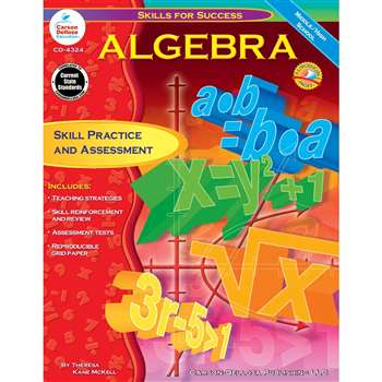 Algebra Skills For Success By Carson Dellosa