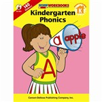 Home Workbook Kindergarten Phonics By Carson Dellosa