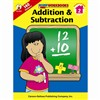Addition & Subtraction 2 Home Workbook By Carson Dellosa