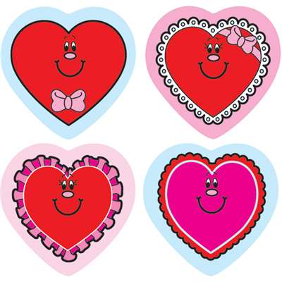 Shape Stickers Valentine Hearts By Carson Dellosa