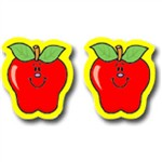 Stickers Apples 120 Pk By Carson Dellosa