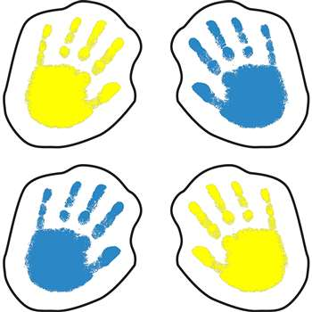 Handprints Stickers By Carson Dellosa