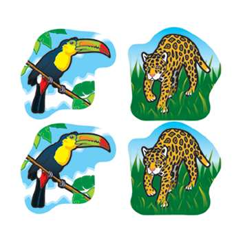 Rainforest Animals Stickers By Carson Dellosa