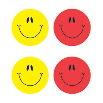 Smiley Faces Multicolor Stickers By Carson Dellosa