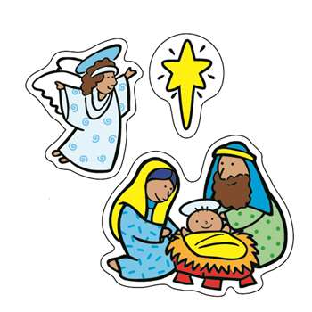 The Nativity Stickers By Carson Dellosa